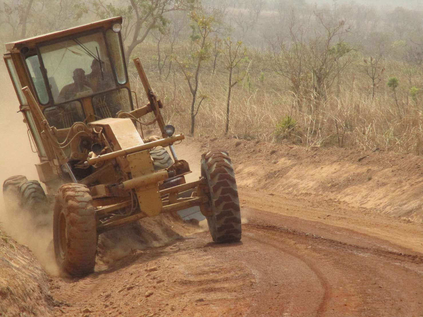 Chantier route: Tcholiré-Guidjiba